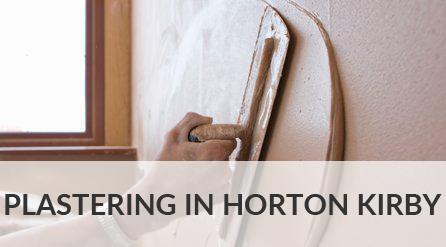 Plastering in Horton Kirby