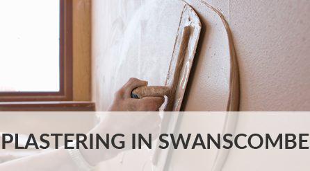 Plastering in Swanscombe