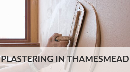Plastering in Thamesmead