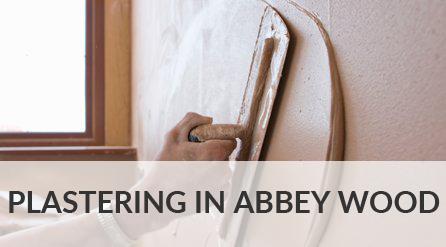 Plastering in Abbey Wood