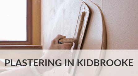 Plastering in Kidbrooke