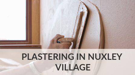 Plastering in Nuxley Village