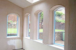 Plastering in Abbey Wood